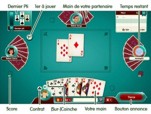 Gameduell Belote en ligne