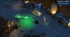 Dans Infinite Crisis utilise le décor contre tes adversaires