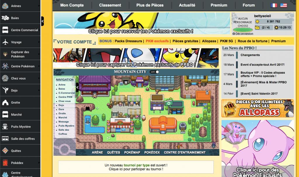 Puissance Pokémon Battle Online